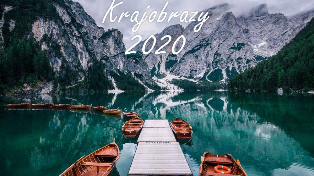 Kalendarz krajobrazy 2020 Piotr Kałuża