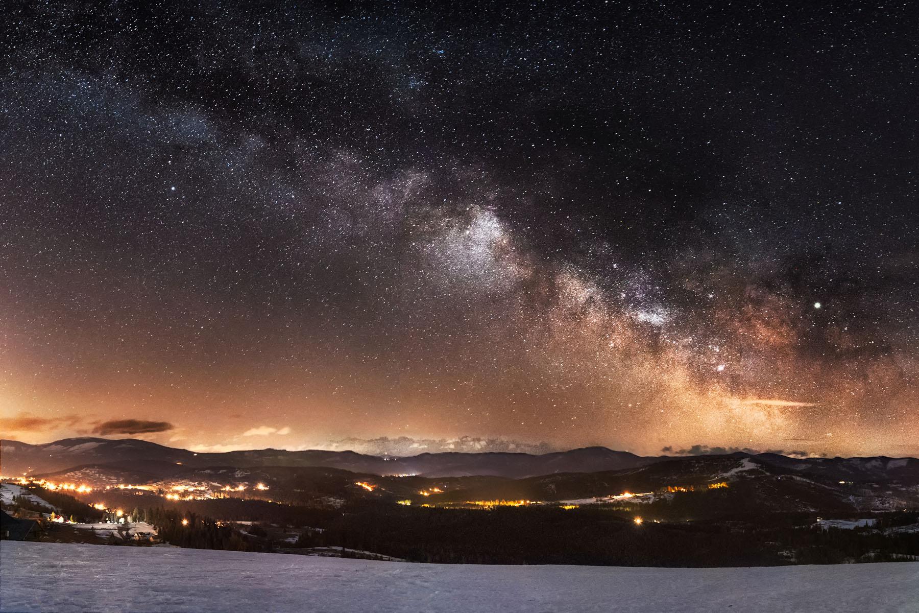 Astrofotografia - nocne niebo – Piotr Kałuża