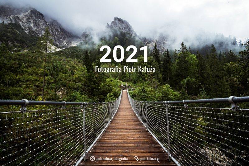 Kalendarz z krajobrazami 2021 - Piotr Kałuża fotografia
